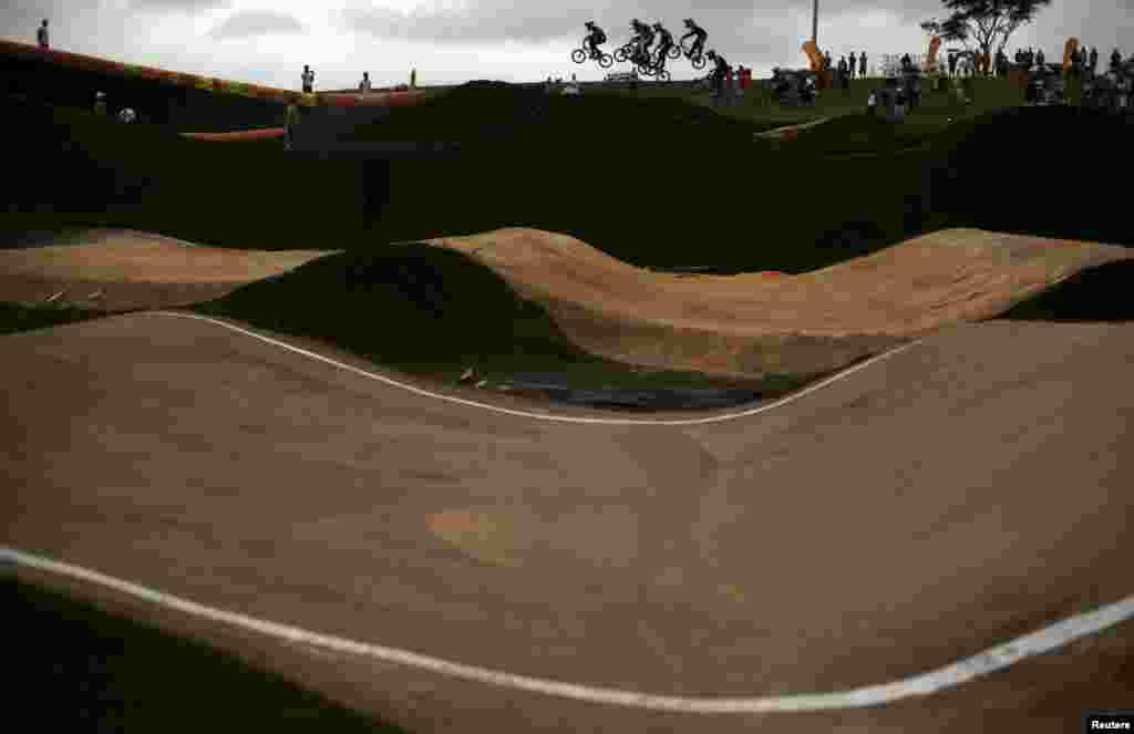 Braziliya - Rio 2016 Oyunları - Velosiped yarışları üçün yol