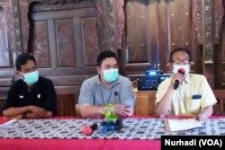 Komunitas industri tembakau di Yogyakarta menyampaikan aspirasinya terkait rencana kenaikan cukai rokok, Senin (30/8). (Foto: Nurhadi)