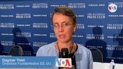 Libertad de prensa Nicaragua, Venezuela y Cuba... Dagmar Thiel FUNDAMEDIOS