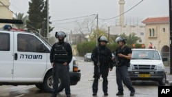 Mideast Israel Gunman Killed