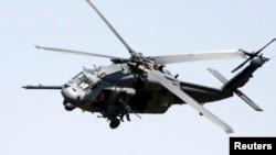 Американский армейский вертолет UH-60 Black Hawk, подобный винтокрылой машине, потерпевшей катастрофу во Флориде 10 марта 2015 г.