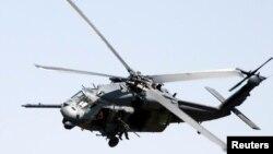 En esta foto de archivo se ve un helicóptero estadounidense UH-60 Black Hawk similar al accidentado en Afganistán el martes, 1 de agosto de 2017.
