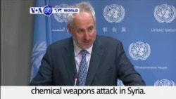 VOA60 World PM - Global Chorus of Condemnation After Gas Attack in Syria
