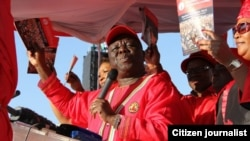 Morgan Tsvangirai Marondera Launch