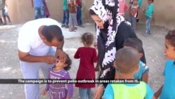 Thousands of Children Vaccinated in Syria's Raqqa Amid Polio Outbreak