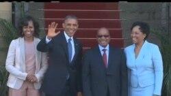 2013-06-29 美國之音視頻新聞: 奧巴馬與祖馬舉行雙邊會談
