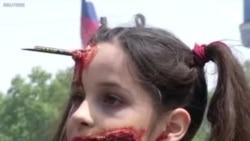 ကမာၻအႏွံ ့ျပန္႔ပြားလာတဲ့ Zombiesေတြ