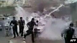 Антиурядова демонстрація у місті Дараа
