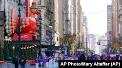 Rêdeçûna salane ya Roja Spasdarî ya Macy's li New Yorkê