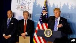 Predsednik Tramp na samitu G7