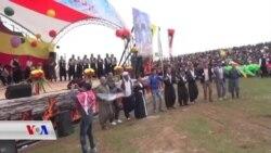 Newroz li Efrînê Hat Pîroz Kirin