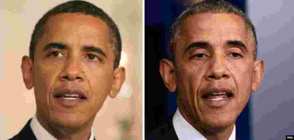 Barak Obama 2008/2014