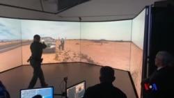 邊防特工接受虛擬入境口岸的培訓