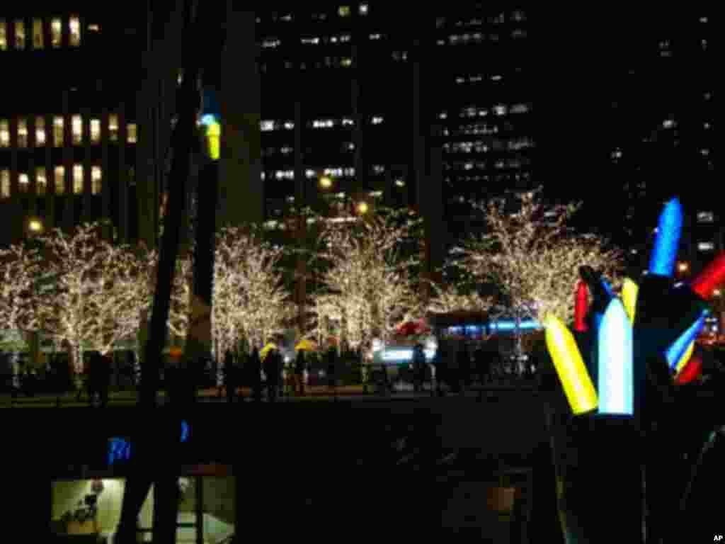 曼哈頓區夜景