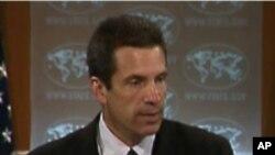 정례브리핑 중인 마크 토너 미 국무부 대변인