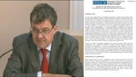 Raporti i OSBE-së për zhvillimet në Shqipëri