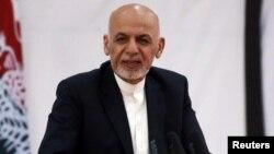 ښاغلي غني وویل چې افغان ځواکونو ته یې سپارښتنه کړې چې لوړ احضارات ولري