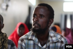 Ibrahim Bundid, 40, is one of thousands of returnees. Kismayo presents a better opportunity for him than his hometown (Afmadow), which is 135 km from , Kismayo, Somalia, Nov. 8, 2016. (M. Yusuf/VOA)