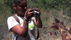 环保组织带领青少年认识大自然