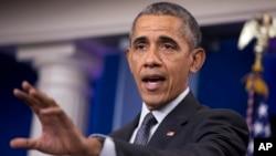 Presiden AS Barack Obama berbicara mengenai perlunya aturan baru yang lebih tegas supaya perusahaan Amerika tidak berusaha menghindari pajak, Selasa (5/4).