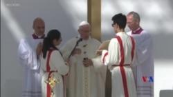 2019-02-05 美國之音視頻新聞: 教宗方濟各在阿聯酋主持彌撒