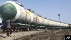 خط آهن جدید کالاهای وارداتی و صادراتی را بین افغانستان اروپا در پنج تا هفت روز انتقال خواهد داد