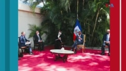 Ayiti: Misyon 3 jou l'OEA a fini san li pa konvenk opozisyon an pou l patisipe nan eleksyon ak prezidan Jovenel Moise.