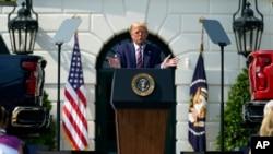 امریکہ کے صدر ڈونلڈ ٹرمپ (فائل فوٹو)