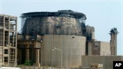 伊朗在布什尔建造的第二座核设施(2010年8月21号资料照)