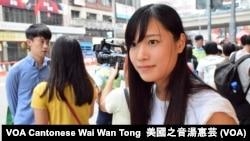 青年新政成員游蕙禎 (攝影:美國之音湯惠芸)