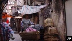 香港九龍一處低收入社區