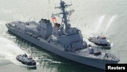 Dos misiles fueron lanzados en dirección del USS Mason en el Golfo Pérsico.