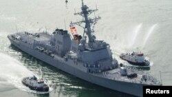 미 해군 구축함 메이슨 호. (자료사진)