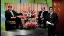 ملاقات جان کری وزیر خارجه ایالات متحده با مقامات پاکستان در آنکشور