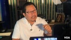 Miguel MOra, director de 100% Noticias denuncia que fue amenazado de muerte por paramilitares y culpa al gobierno de Daniel Ortega.