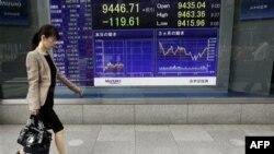 Nền kinh tế Nhật Bản đang gặp khó khăn vì chỉ tệ mạnh khiến các mặt hàng xuất khẩu có giá đắt hơn trên thị trường nước ngoài