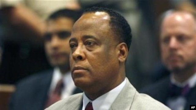 Conrad Murray (file photo)