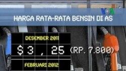 Harga BBM di AS Melonjak Terus - Laporan VOA 29 Februari 2012