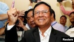 Kem Sokha, pemimpin partai oposisi utama di Kamboja (foto: dok).