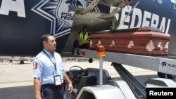 Los cuerpos de los fallecidos son repatriados a su natal Honduras.