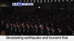 VOA60 World - Japan observes fifth anniversary of devastating earthquake and tsunami