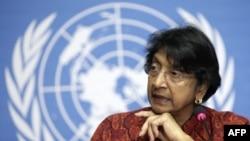 Bà Pillay nói rằng các cuộc đàm luận với các giới chức làm bà tin rằng nhân quyền trong vùng sẽ tiếp tục được cải thiện