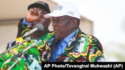 Former Zimbabwe VP Emmerson Mnangagwa