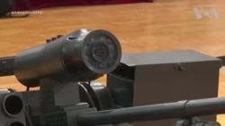 Ra mắt xe tăng laser tại Hội nghị Robot Thế giới