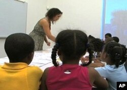 French Class Connects Haitian Children with Their Heritage