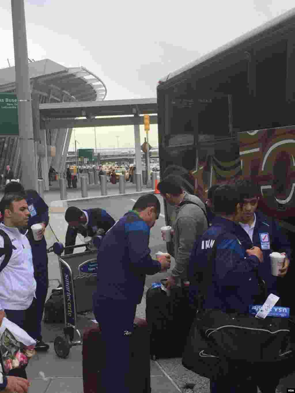 تیم کشتی باشگاهی ایران در نیویورک