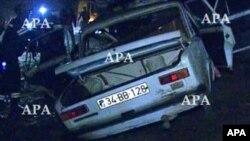 Bakı-Şamaxı yolunda avtomobil qəzası