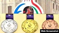 Avropa Oyunlarının medalları