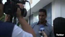 """Delson Guárate, un exalcalde del partido Voluntad Popular que juyó a Colombia, dice que en Venezuela """"no funciona el Estado de derecho""""."""