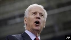 El vicepresidente Joe Biden elogió el valor demostrado por los sobrevivientes del atentado.